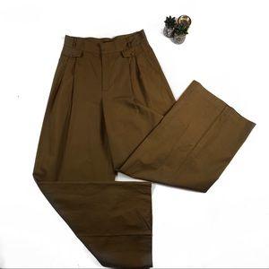Ellen Tracy Camel Wide Leg Trousers #892